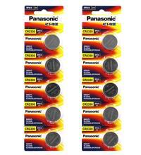 цена на 100pcs/lot Panasonic CR2330 CR 2330 DL2330 ECR2330 GPCR2330 3V Lithium Button Cell Battery Coin Batteries For Computer Toys