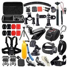 Hot For Gopro7 6 5 4 3+ Sports Camera 53-In-1 Combination Accessory Set Compatible With Sjcam Sj4000(China)