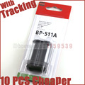 BP-511A Batteries BP 511A BP511A 511 Camera Battery For Canon EOS 300D 10D 20D 30D 40D 50D D30 D60 5D G6