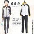 Subaru Natsuki cosplay costumes sportswear Japanese anime ReZero kara Hajimeru Isekai Seikatsu clothing(top+pants)