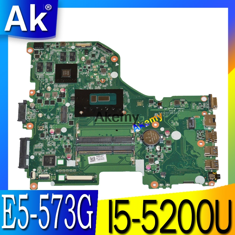 E5 573G mainboard For Acer Aspire E5 573G E5 573 Motherboard I5 5200U GT940M 2GB DA0ZRTMB6D0 Test work 100% original