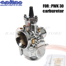 Quality 30mm Universal carb for Mikuni Maikuni PWK30 Carburetor Parts 100cc to 150cc Scooters With Power Jet Motorcycle ATV