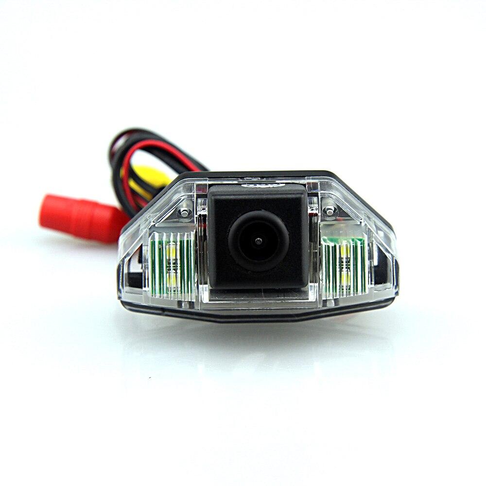 imágenes para Ccd cámara del revés del coche cámara de visión trasera para honda crv 2006 2007 2008 2009 2010 2011 Ajuste con Visión Nocturna a prueba de agua