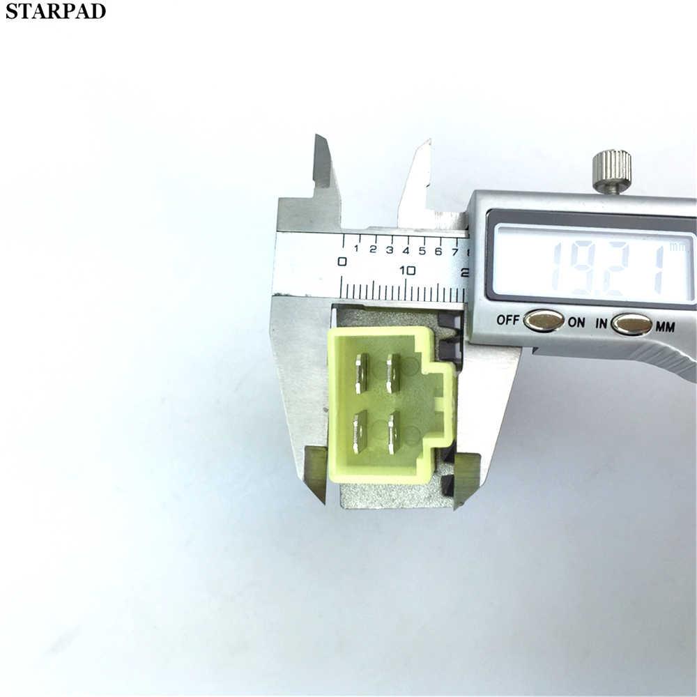 Universal motocicleta estabilizador de tensão do motor da bicicleta 12 v regulador tensão retificador de corrente atv scooter 4 pinos avr autoestabilizador