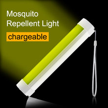 Strong Magnet Mosquito Repellent Light 2W Camping Light Lantern USB Rechargeable 5 Levels Dimmable White Green Light Tent Light(China)
