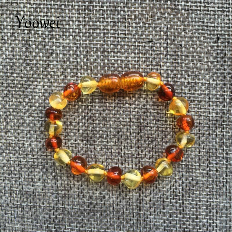 HTB1XK9fqBUSMeJjy1zkq6yWmpXaY Yoowei Baby Teething Amber Bracelet for Boys Girl Best Women Ladies Gift Natural Baltic Amber Jewelry Adult Anklet Sizes 13-23cm