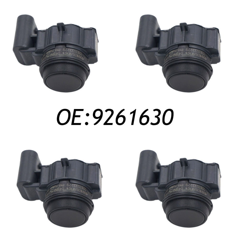 New 4PCS 9261630 PDC Parking Sensor Bumper Object Reverse Assist Radar  0263033228  For BMW new set 4 9288230 pdc parking distance sensor reverse assist for bmw 0263013972