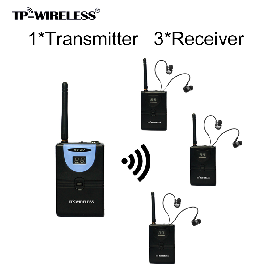 TP-Wireless 2.4GHz Sistem digital pentru ghidarea turului wireless - Audio și video portabile