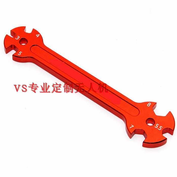 อลูมิเนียม multi - function ประแจปรับ lever nut เครื่องมือ 3/4/5/5.5/7/8 ประแจปลายเปิด