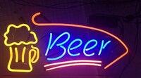 Bira Bardağı Cam Neon Işık Burcu