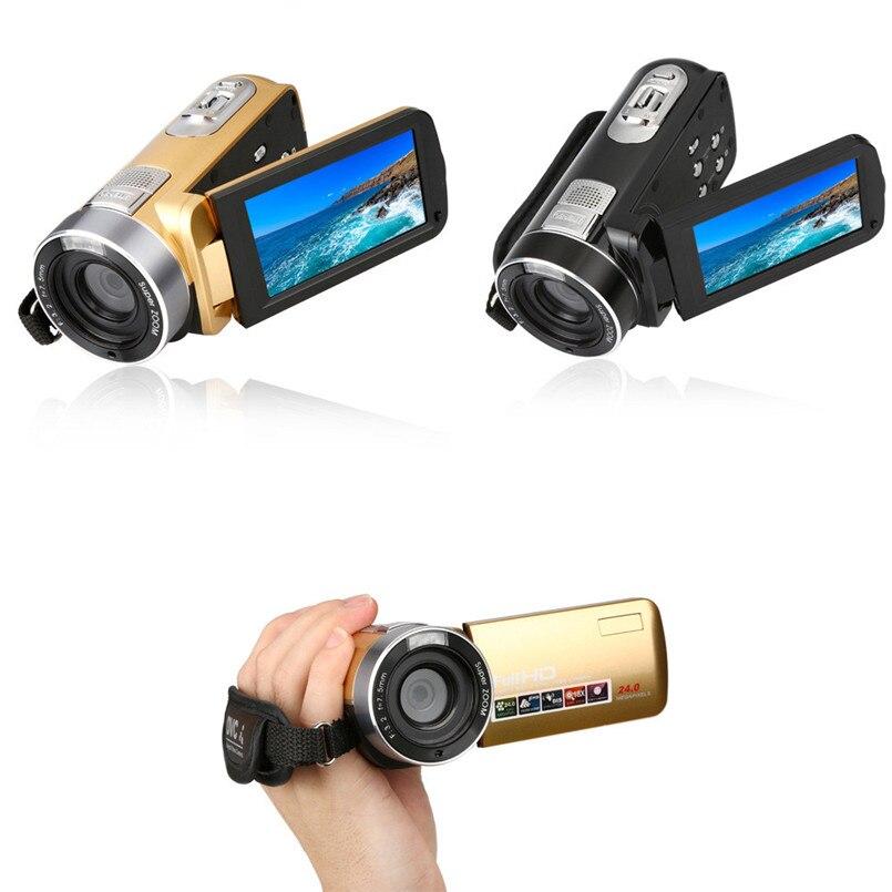 Bike Bicycle Computer Camera 3.0 Inch TFT 24MP 18X Digital Zoom Video Camcorder Camera HD DV A2