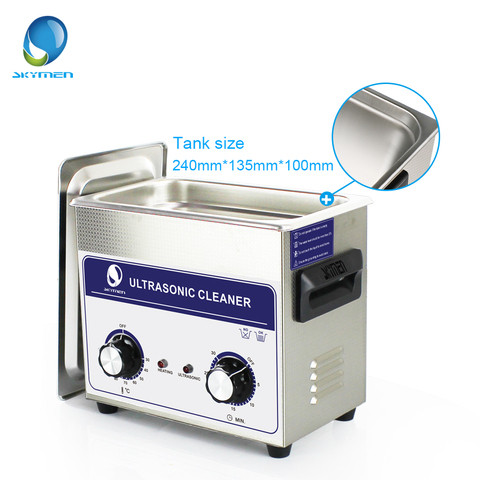 SKYMEN Ultrasonic Cleaner 3l Industry  cleaner 3.2L 120W 110/220V Cleaning Solution for circuit borad metal parts tableware Karachi