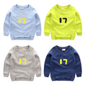 Male child pullover sweatshirt winter autumn 2016 basic shirt child baby children's clothing top outerwear u4064