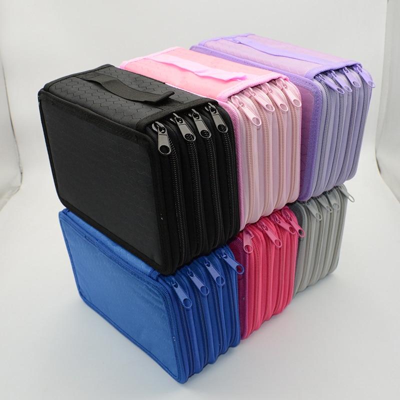 4 to piso estuche de lápices colorido Kawaii estuches escolar pencilcase trousse scolaire stylo estuche de lápiz caja de papelería