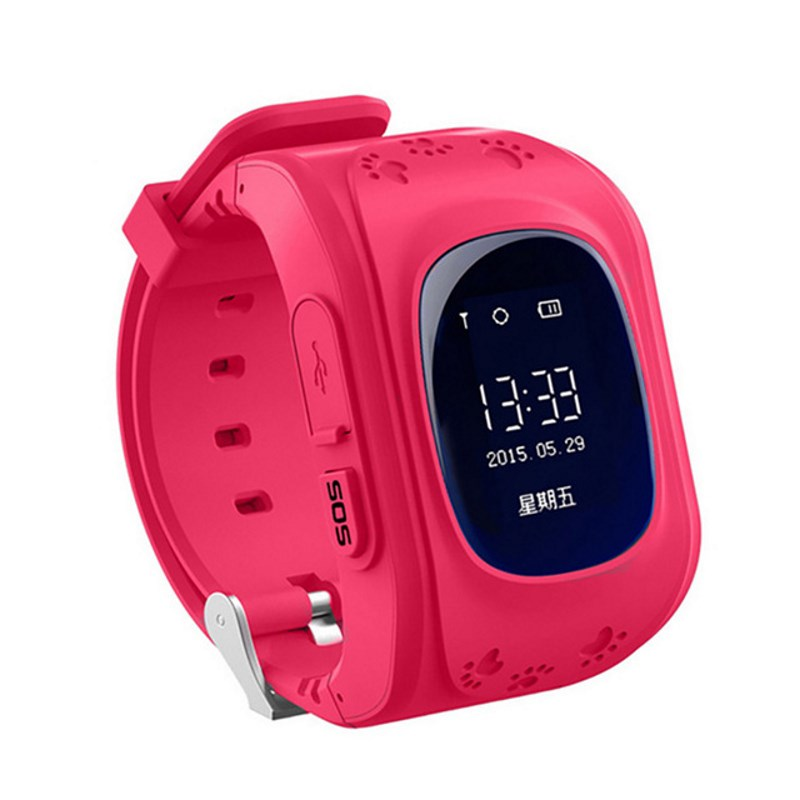 Children Smart Kid Watch Phone Smartwatch W5 Support SIM Card Location Position GPS Tracker SOS Call