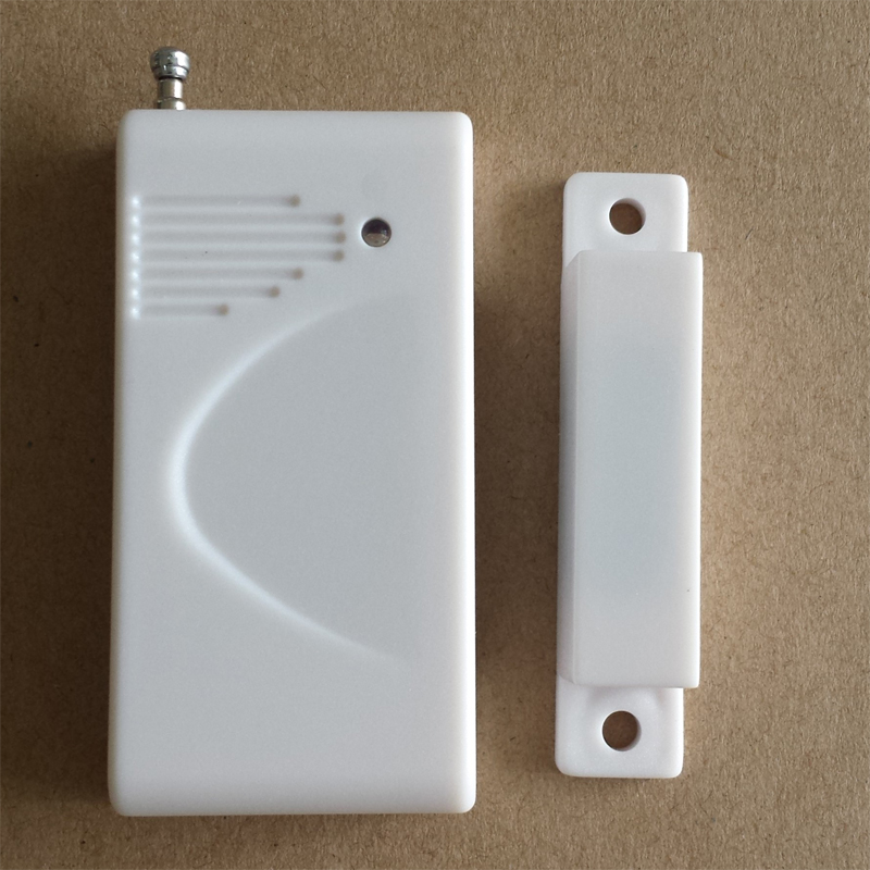 Wireless Door Window Detector Sensor For Alarm System Detect Door Windows Drawer Illegally Open and Close Window Magnetic 2PCS