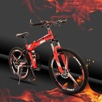 24 speed 26 inch vouwfiets racefiets Dubbele schijfremmen opvouwbare mountainbikes student fiets bicicleta