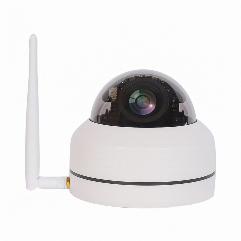 19201080 2MP WiFi PTZ Camera 4XZoom Auto High Resolution Waterproof Wireless  Infrared 1080P IP Dome Camera CamHi APP Indoor 7