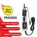Hantek официальный PSO2020 USB ручка Тип хранения цифровой осциллограф USB 1 канал 20 МГц 96MSa/s диагностический инструмент