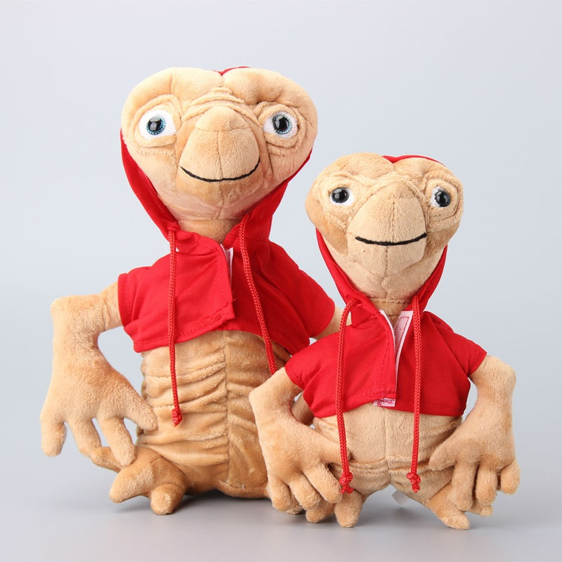 ФОТО high quality hot e.t plush toys 22cm red kawaii et soft stuffed animal doll kids toys