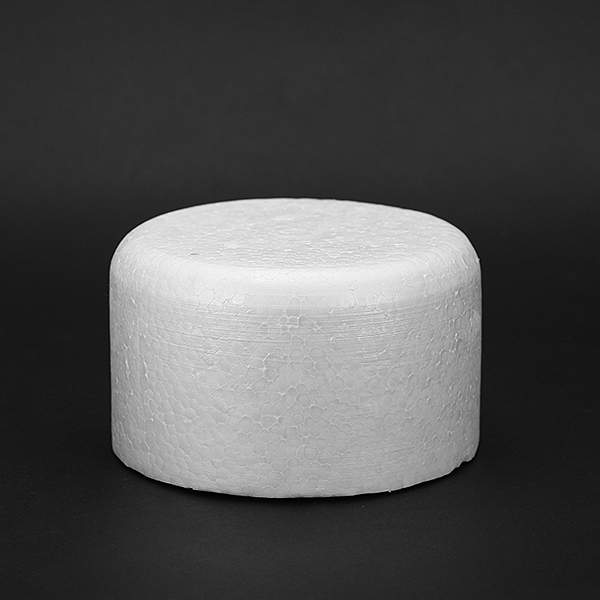free shipping  1pcs  12' polystyrene Styrofoam birthday cake  for Children DIY and artificial cake mold
