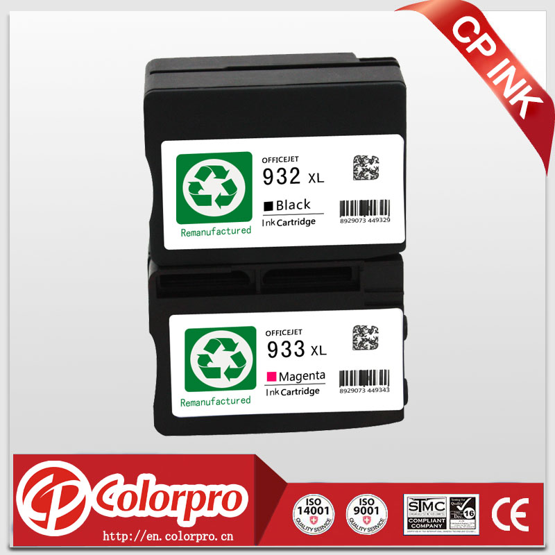4 darab HP 932xl 933xl tintapatronra gyártott HP Officejet Pro 6100 - Irodai elektronika - Fénykép 1
