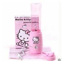 Juicer máy xay sinh tố liquidificador dễ thương Hello Kitty khỏe mạnh cây máy ép điện máy trái cây trộn extractor máy xay thịt ép lắc