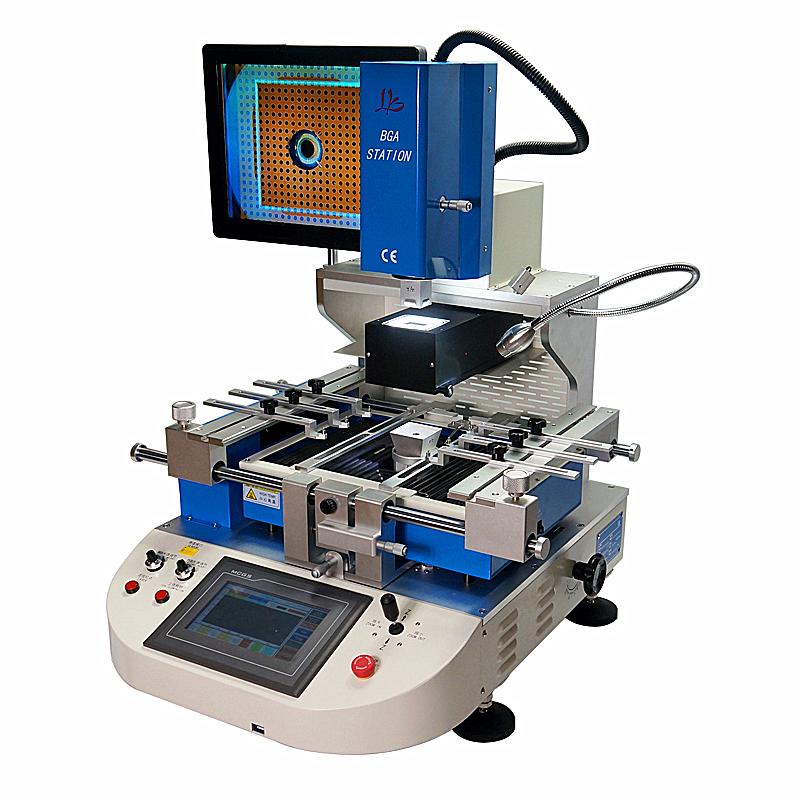 Semi Automatic BGA Rework Machine G720 with Optical Alignment BGA Soldering Station Touch screen and PLC Control