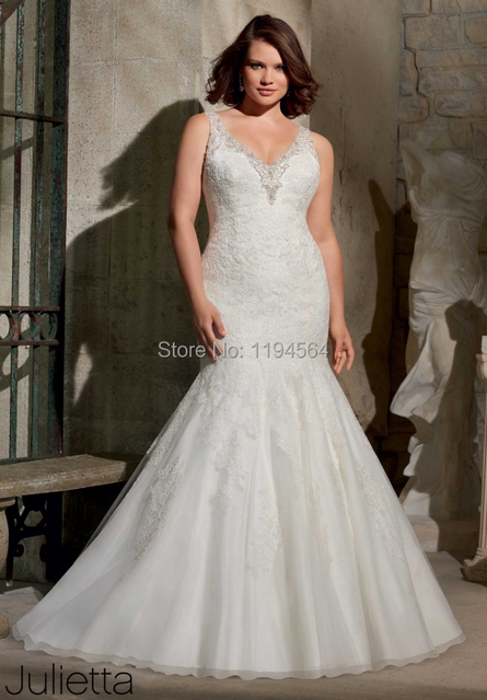 Aliexpress Buy Big Discount Plus Size Wedding Dresses With