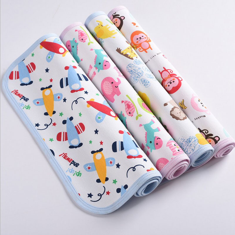 Waterproof Baby Changing Pad Urine Pad Child Bed Cotton