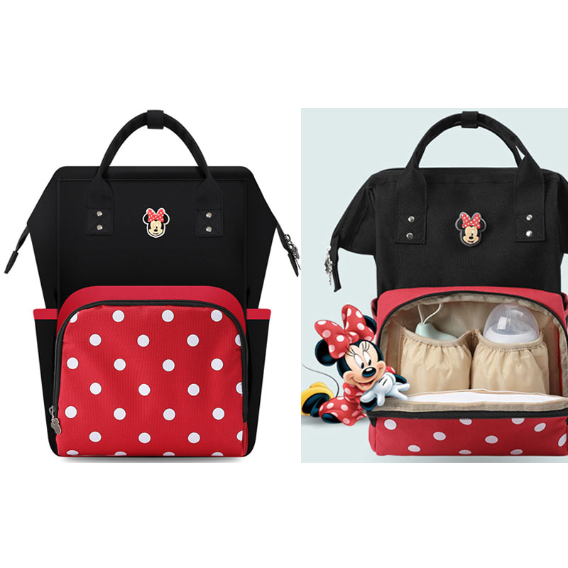 Disney Diaper Bag Mommy Nappy Backpack Mother Maternal Pram Travel Baby Infant Organizer Nursing To Care Changing Bags