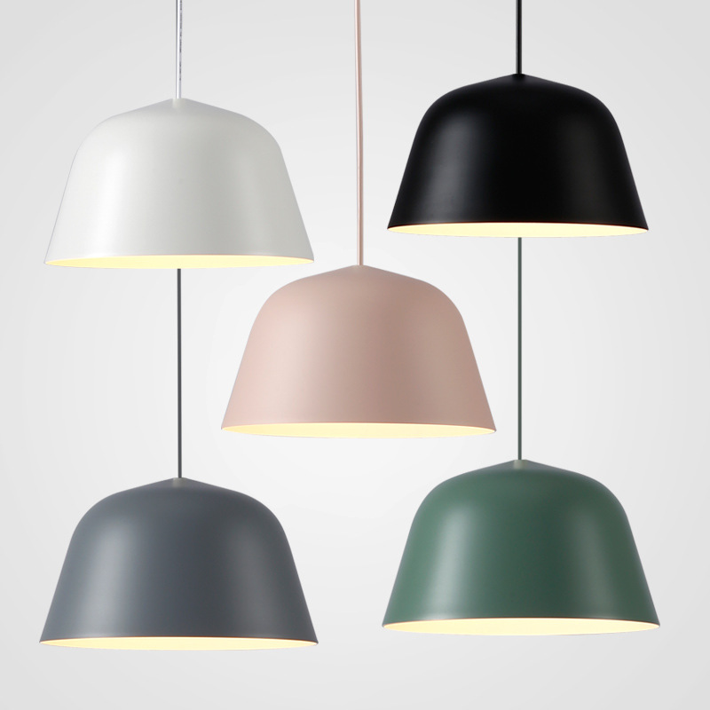 EuSolis Nordic Lighting Modern Pendant Lights Living Room Lamp Hanglamp Eetkamer Edison Light Fixture Luminaire Avize Lampshade цена
