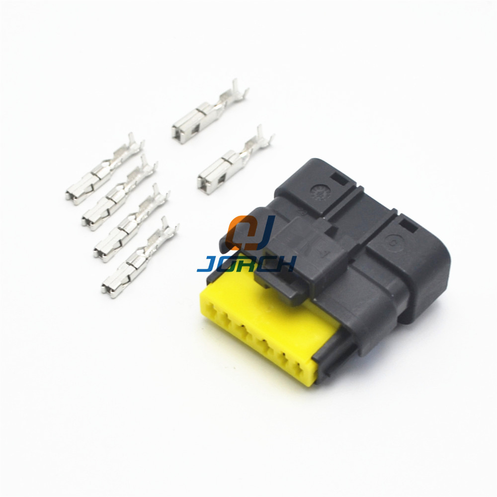 5 sets 6 pin automotive throttle valve plug FCI wiring harness waterproof  connector 211PC069S0049 211 PC069S0049-in Connectors from Lights & Lighting  on ...