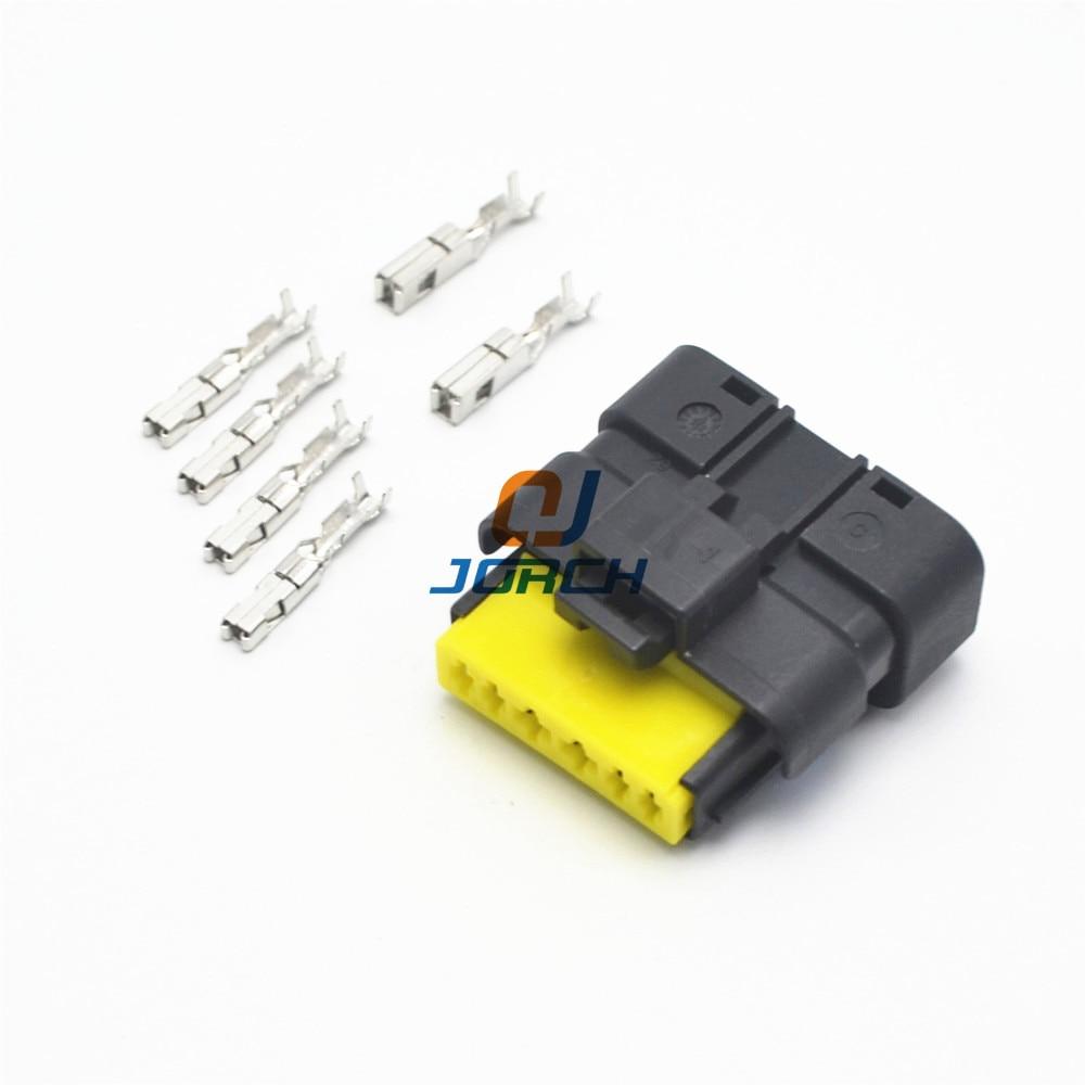 5 sets 6 pin automotive throttle valve plug FCI wiring