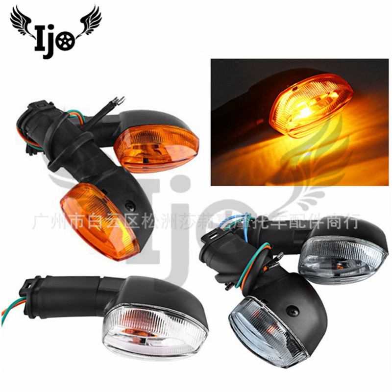 3 Colors Pro Motorbike Accessories Moto Indicator Blinker Amber For Yamaha YZF R1 R6 FZ1 FZ6 Turn Signal Motorcycle Flashing