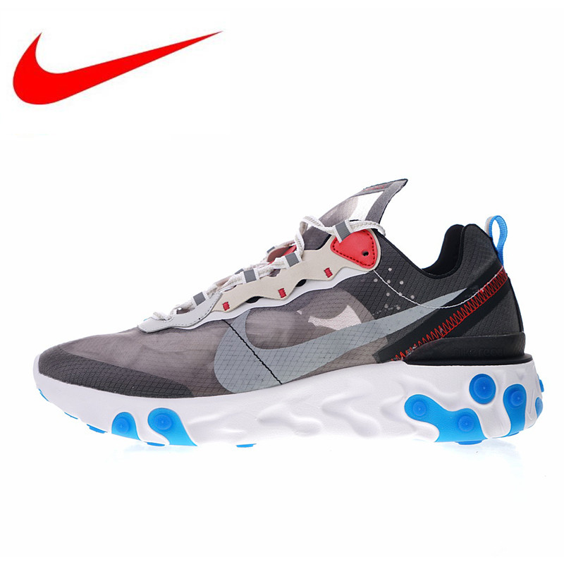 b37856ec13f13 Non-slip Nike Upcoming React Element 87 Men s Running Shoes New Outdoor  Sports Shoes Shock