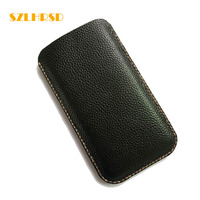 SZLHRSD Genuine Leather Phone Bags For Xiaomi Mi Max 2 Cases Mi Mix Slim Pouch Stitch