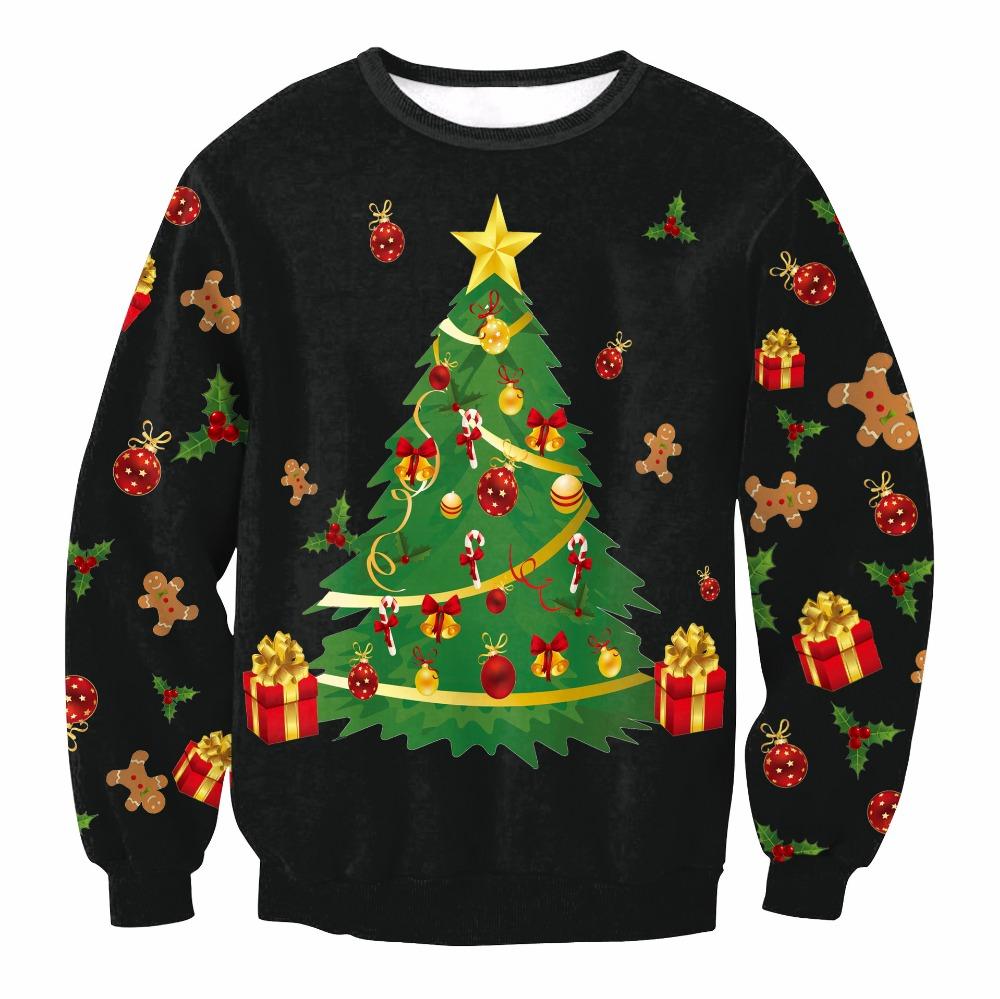 HTB1XKCKkPihSKJjy0Flq6ydEXXa8 - Christmas Patton Sweater Santa Claus Cute Print Pullover Sweater Jumper Outwear Women's Patterns of Reindeer Snowman Christmas PTC 286