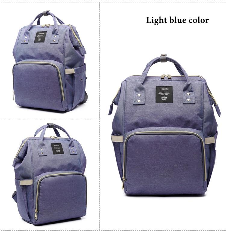 HTB1XKCbXnvI8KJjSspjq6AgjXXa4 Fashion Brand Large Capacity Baby Bag Travel Backpack Designer Nursing Bag for Baby Mom Backpack Women Carry Care Bags