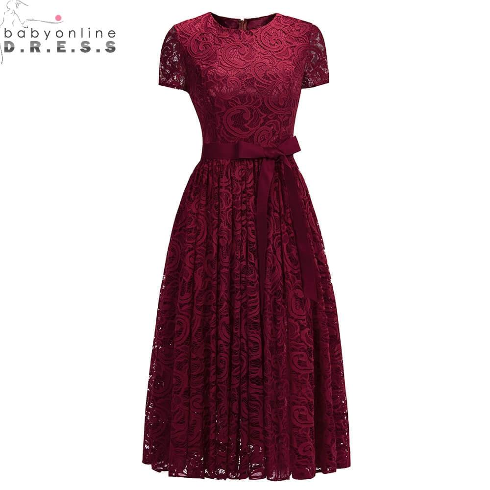 Discount Evening Gowns: Aliexpress.com : Buy Plus Size 26W Lace Short Evening