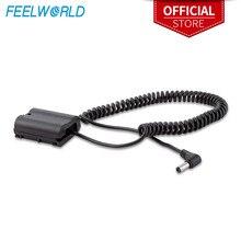 Feelworld EP 5B bateria fictícia para f5 ma5 f6 a6 monitor compatível com nikon d850 d810 d600 d610 d750 d800e d7000 d7100 d500