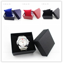 2017 fashion unique design Crocodile Durable Present Gift Box Case For Bracelet Bangle Jewelry Watch Box in stock colors 20d00