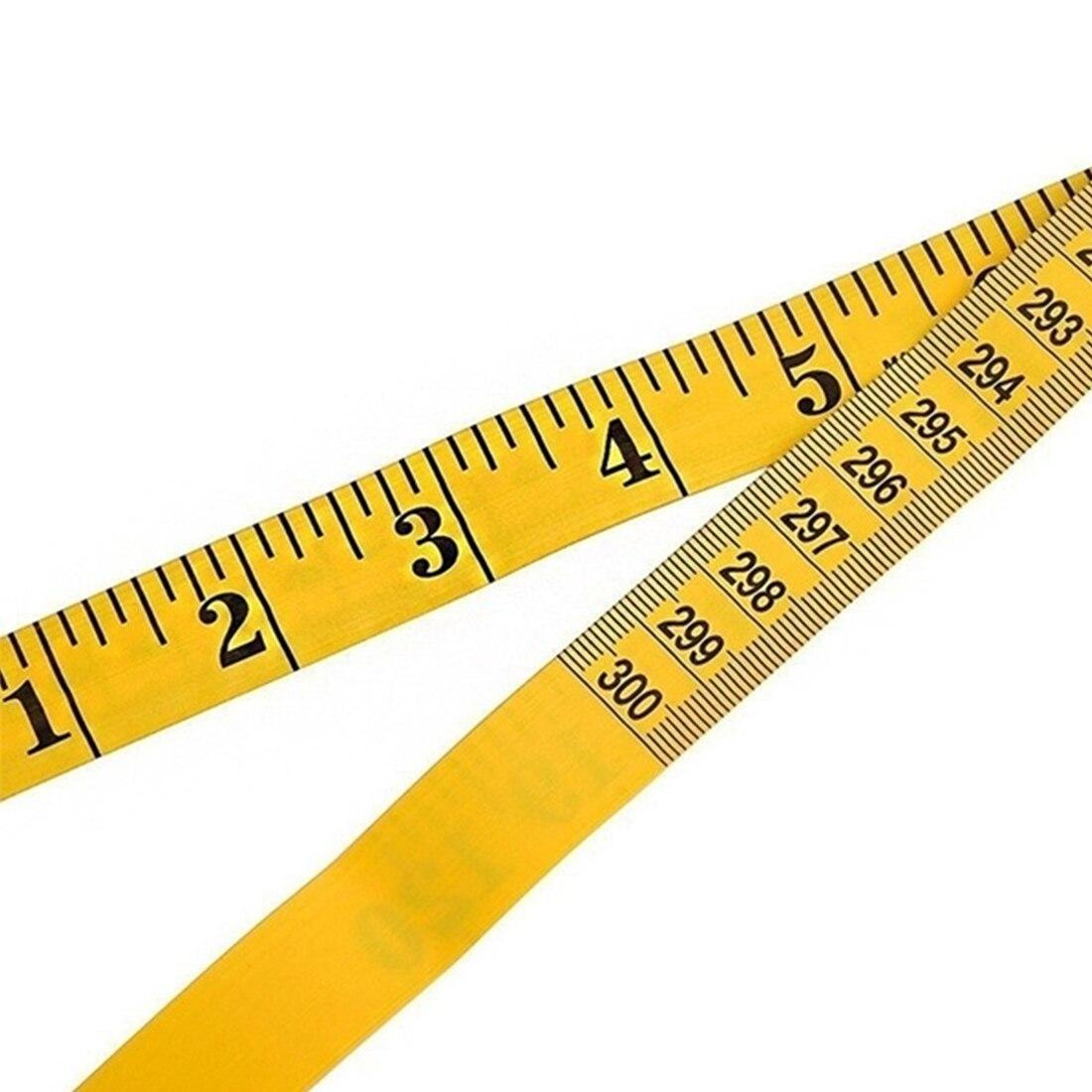 Одежда для пошива линейка швейная линейка прочная мягкая 3 метра 300 см швейная лента для портного тела измерительная линейка для изготовлен...