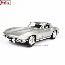 цена на Maisto 1:18  1965 Chevrolet Corvette Simulation Alloy Retro Car Model Classic Car Model Car Decoration