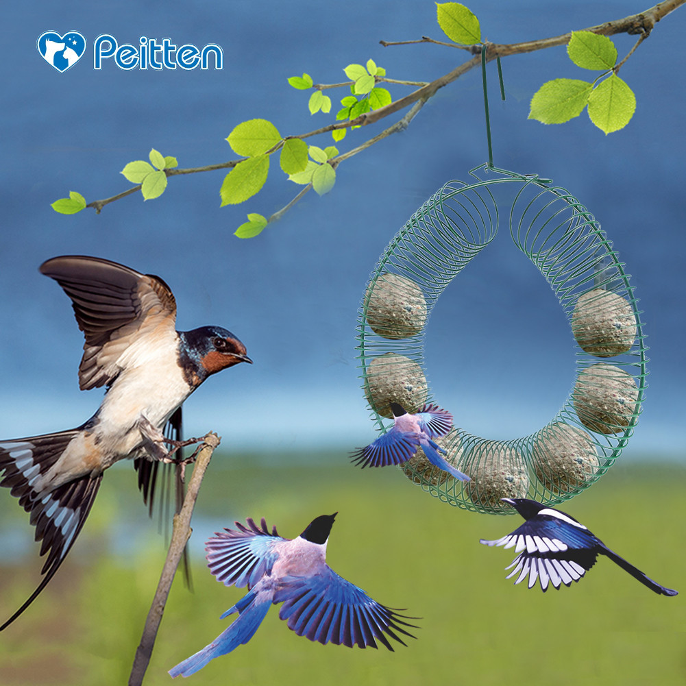 Outdoor Decoration Hanging Bird Feeder Bird Toy Parrot Bite Climbing Parrot Catch Bite Toys Parrot Eating and Palying Feerers  Кормушка