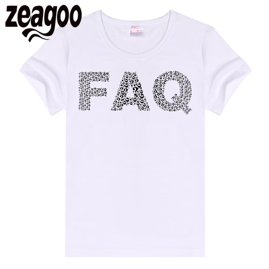 zeagoo T-Shirt Casual Basic Plain Crew Neck Slim Fit Soft Short Sleeve Women White Common
