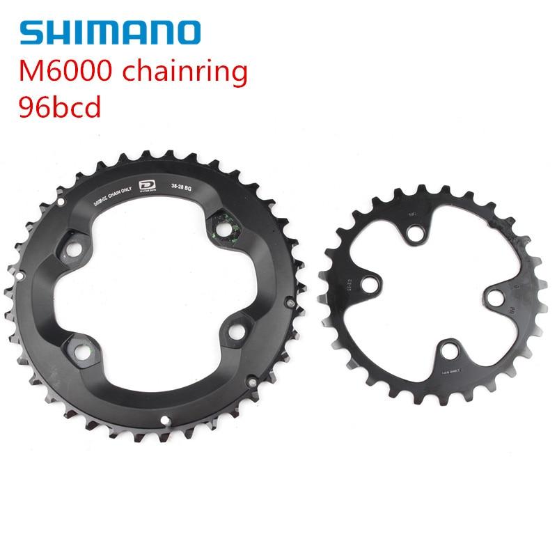 crank 38-24 64 mm 4 Bolt AM Shimano SLX FC M675 10-Speed Chainring 24 Teeth