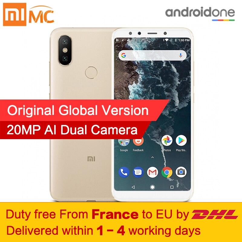 Free tax Global Version Xiaomi Mi A2 4GB 32GB Smartphone Snapdragon 660 Octa Core 20 0MP