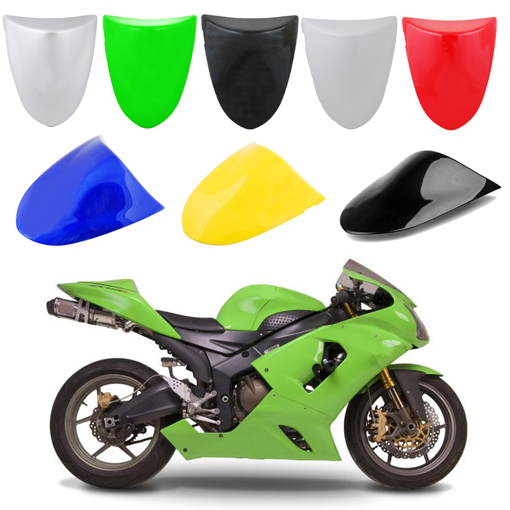 Areyourshop Motorcycle ABS Plastic Rear Seat Cover Cowl For Kawasaki ZX6R ZX 6R 2005-2006 New Arrival Motorbike Part