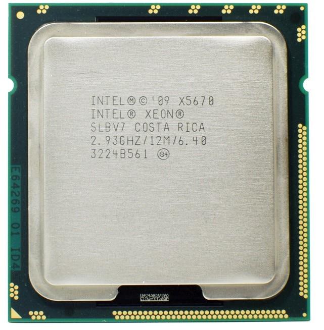 Intel Xeon X5670 Processor 2.93GHz LGA 1366 12MB L3 Cache Six Core server CPU